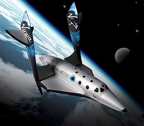 Cestování do vesmíru se společností Virgin Galactic
