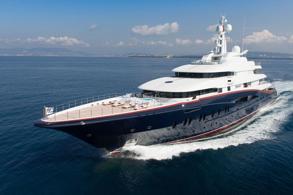 Nirvana – Luxusní jachta snů za 6 miliard