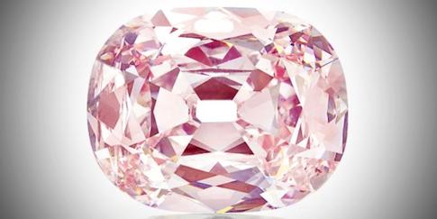 """Nový """"Růžový panter"""" jménem Princie Diamond by prodán"""