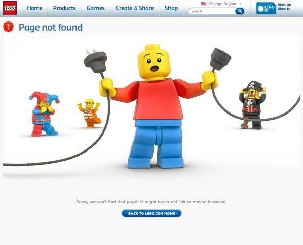 Nejpopulárnější Error číslo 404