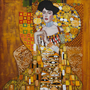 Portrait of Adele Bloch-Bauer I by Gustav Klimt