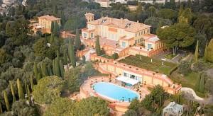 Vue aérienne de la Villa Leopolda. News Picures NewsPict-02-Fr News, GER 01, GER 02, NewsPict-03-Wld et à publier