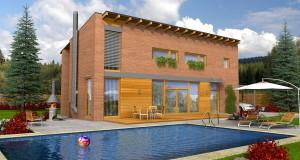 Chcete dům z moderních materiálů? Tak si pořiďte dřevostavbu