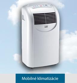Mobilná klimatizácia vás príjemne ochladí