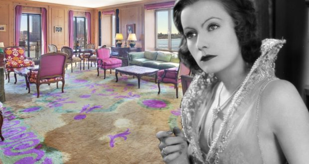 Kupte si byt herečky Grety Garbo