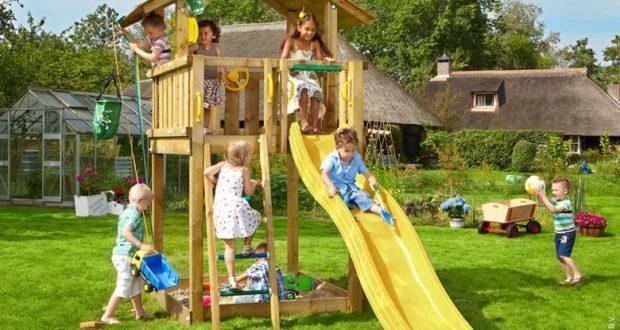 Sháníte bezpečnou zábavu pro své děti na zahradu?