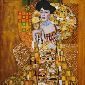 Portrait of Adele Bloch-Bauer I by Gustav Klimt