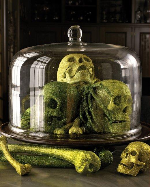 Halloweenské lidské ostatky