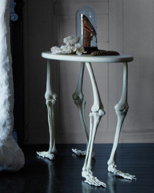 """Halloweenský stolek na drink, svíci, či dokonce na """"noťas"""""""