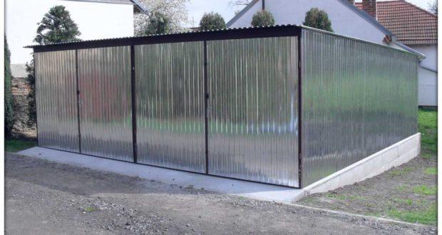 Plechové garáže jsou výhodným řešením pro každého