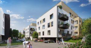 Nové moderní bydlení vPraze! Příjemnou rezidenční čtvrť poblíž parku si zamilujete